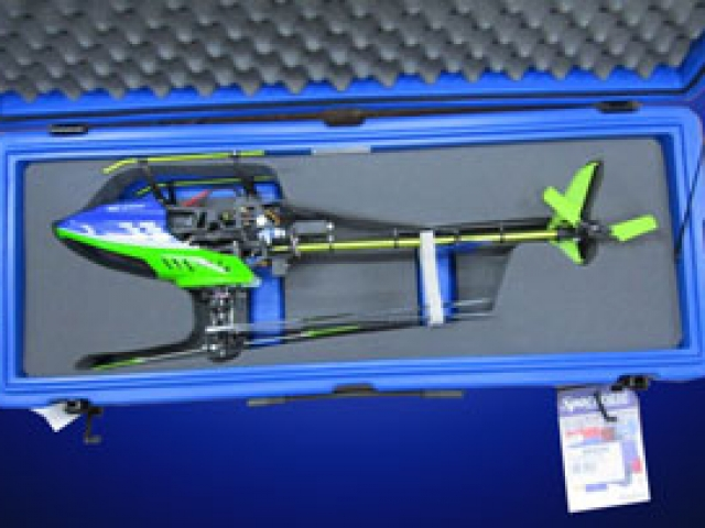 Custom foam options - helicopter-in-space-case- QPC
