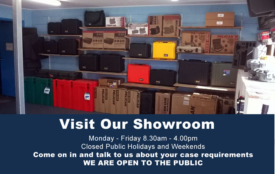 Qld Protective Cases - Visit Our Showroom