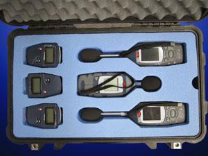 Custom foam options - sound-level-meters- QPC