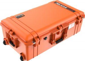 Pelican 1615 Air Case - Orange - Qld Protective Cases - Brendale, Brisbane