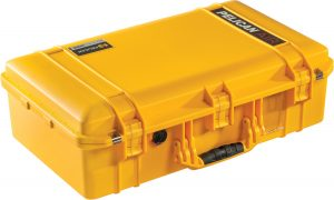 Pelican 1555 Air Case - Yellow available from Qld Protective Cases, Brendale, Brisbane