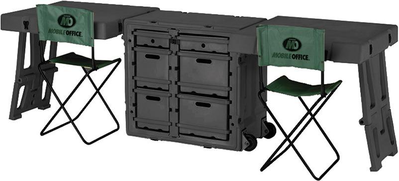 472-FLD-DESK-DD Field Desk - Qld Protective Cases
