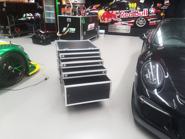 Customised Case by Qld Pro Cases for Scott Taylor Motorsports