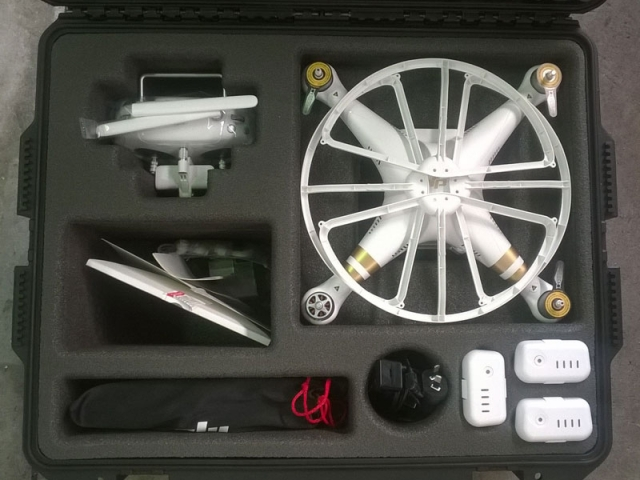 Big Planet Media Drone Case-Custom Foam-Qld Projects