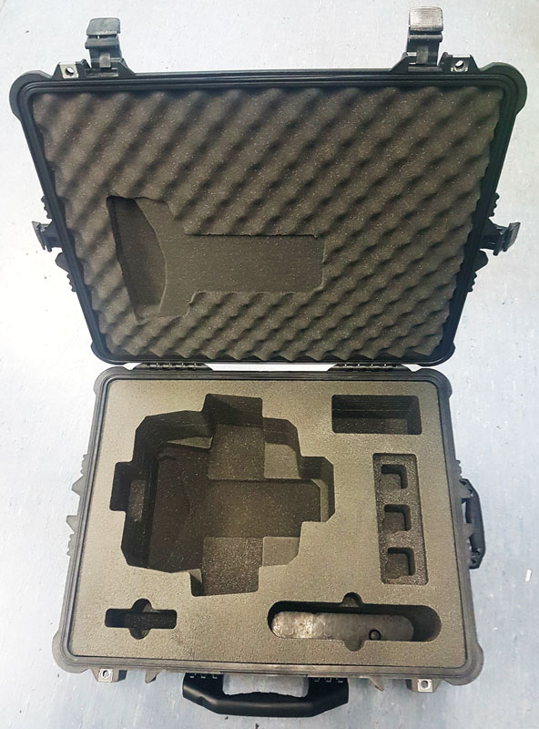 Ground Probe 1610 Pelican Case - Custom Foam - Qld Pro Cases