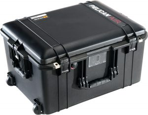 Pelican 1607 Air Case - Black from Qld Protective Cases are available from Brendale, Brisbane, Queensland.