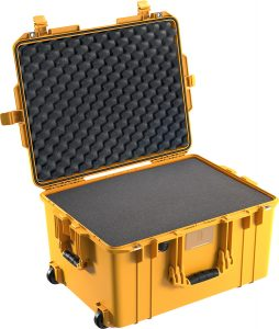 Pelican 1607 Air Case - Black - Deep Drone Case
