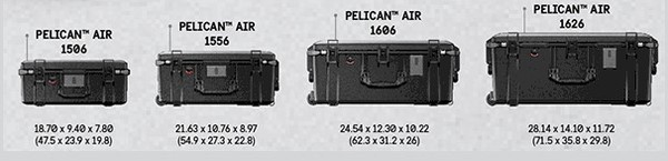 GET MORE AIR Introducing The Pelican™ Air Long/Deep Cases Pelican understands that finding the right protection, with the perfect fit for your gear, is a priority. Pelican™ Air began with long protection and quickly grew to offer you deep protection. The time has come to combine those two in order to create Pelican's new Long/Deep Series.