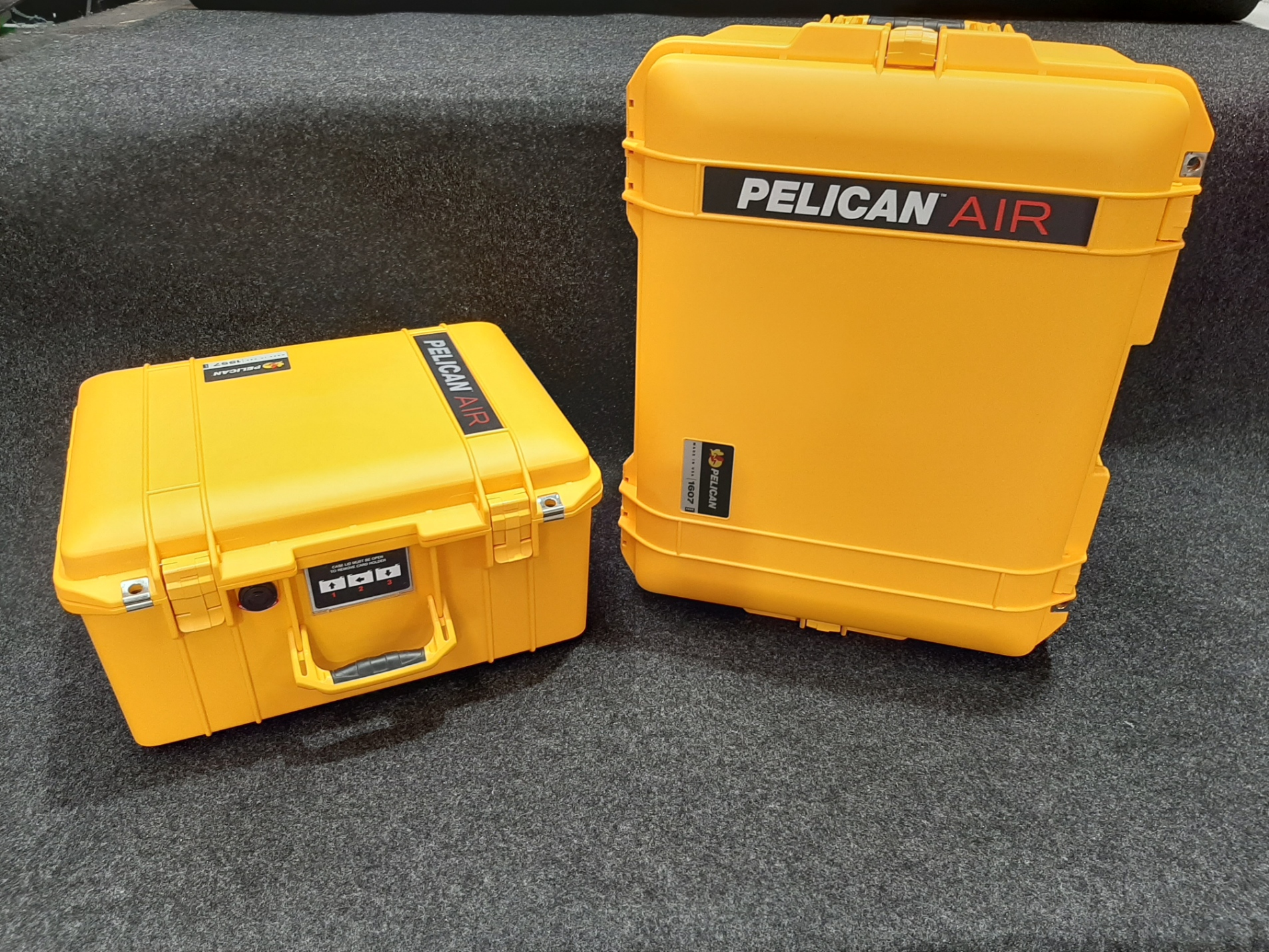 Pelican 1557 and 1607 Air and they Suit the DJI Phantoms custom fitted by Qld Protective Case in Brendale, Brisbane