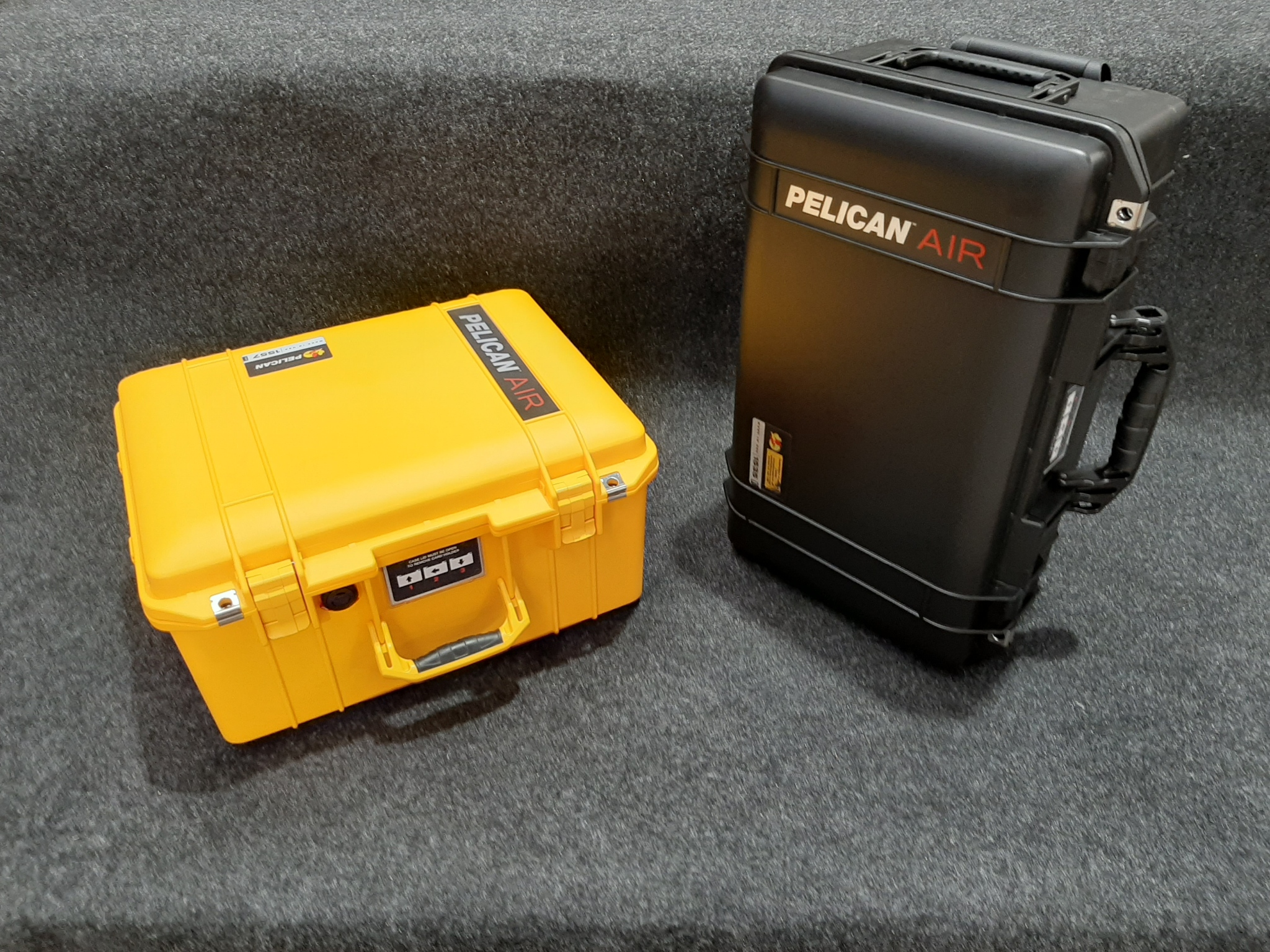 Pelican 1557 and 1535 Air and they Suit the DJI Phantoms_Qld Protective Case