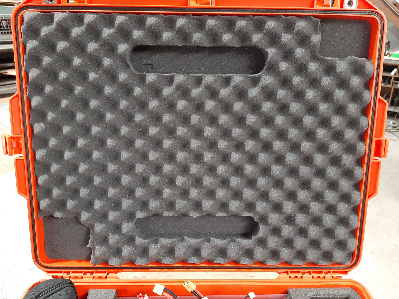 Pelican 1637 Air to Suit Swell Pro Drone custom fitted by Qld Protective Cases, Brendale, Brisbane.